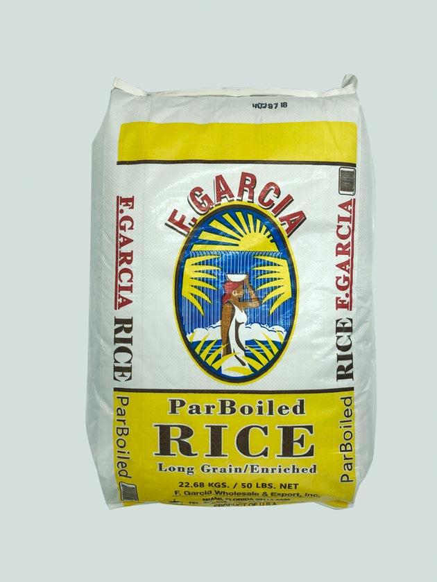 F.Garcia Parboiled Rice